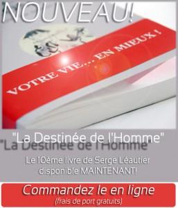 """Livre : La destinée de l'homme """"du savoir vivre au savoir être"""""""